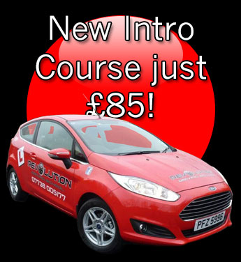 get driving lessons Lisburn with Revolution Driving School